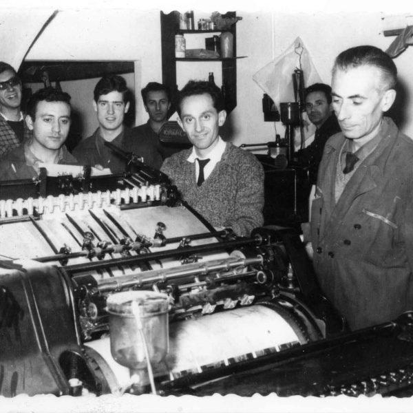 artes gráficas, imprenta, Chamberí, Blanco y Negro, Vintage, impresión, tipografía, máquinas de impresión